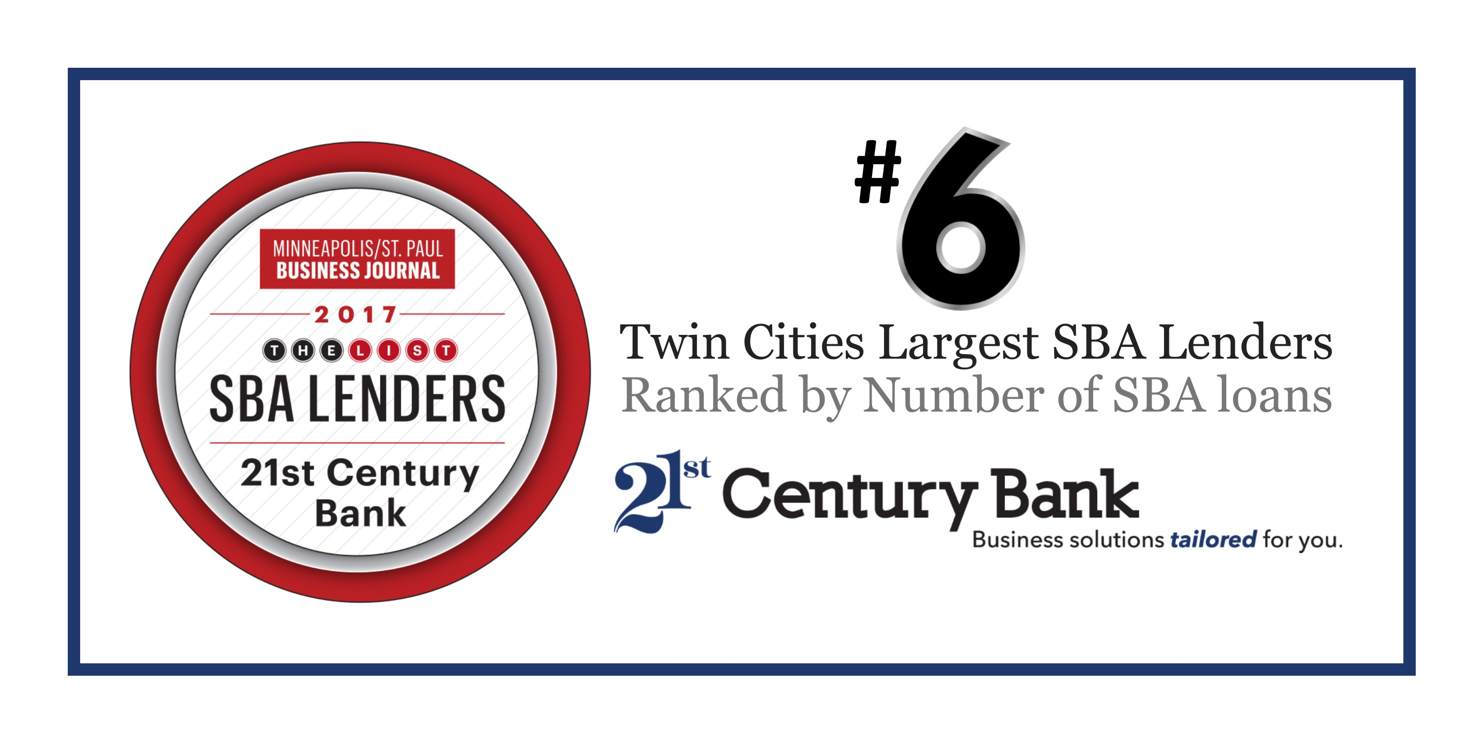 Twin Cities Top SBA Lenders