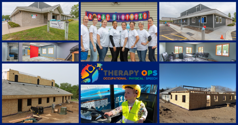 Photos of Building and Employees of Therapy Ops