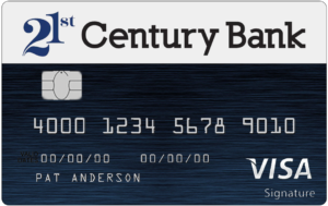 personal credit cards example
